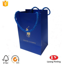 Small jewelry packaging bag with gold logo