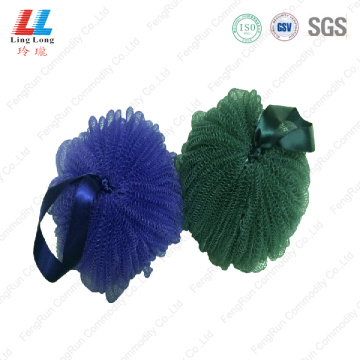 Lantern mesh puff bath sponge with soap