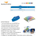 Adjustable silicone access control rfid wristband