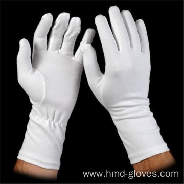 High Quality Parade White Cotton Glove