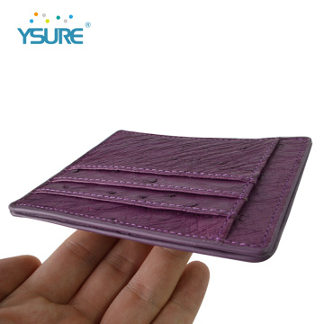 Custom Color Real Leather Business Card Holder