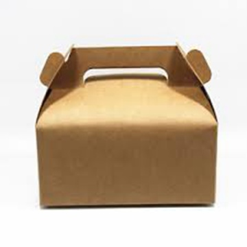 Customized decorative kraft gift packaging box for candy