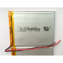 3.7v 2500mAh Lipo Battery For Tablet (LP7X9T3)