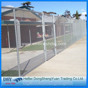 Cheapest Diamond Wire Fence PVC Chain Link Mesh