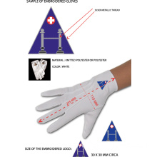 Well-designed for Masonic Embroidery Nylon Gloves Masonic Dress Gloves with WM Square supply to Benin Wholesale