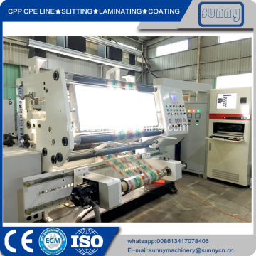 Wide Web Printing Film Doctor Rewinding Machine