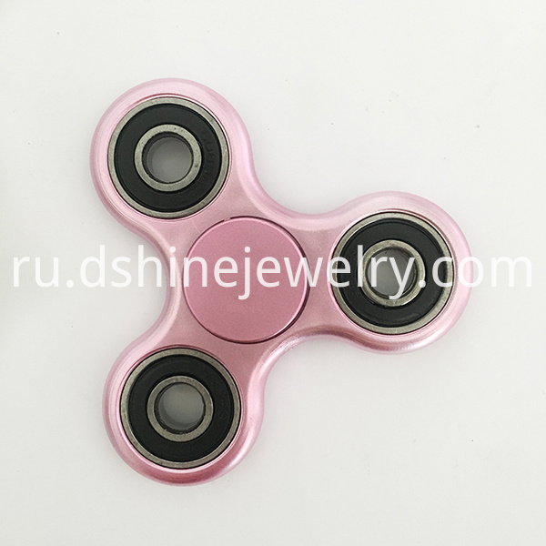 pink metallic spinner