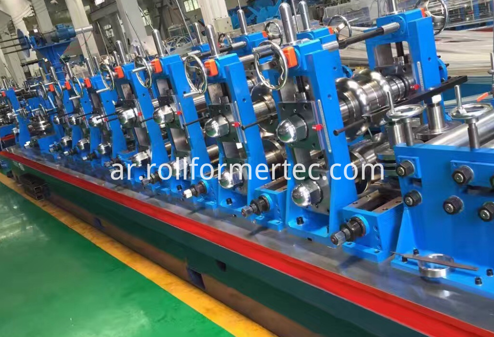 Tube rollformers induction welding tubes machine (7)
