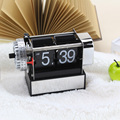 Small Black Alarm Flip Clock For Decor