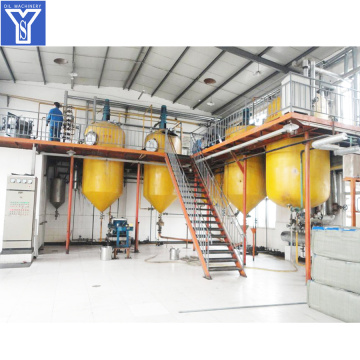 Crude Oil Physical Refining Plant
