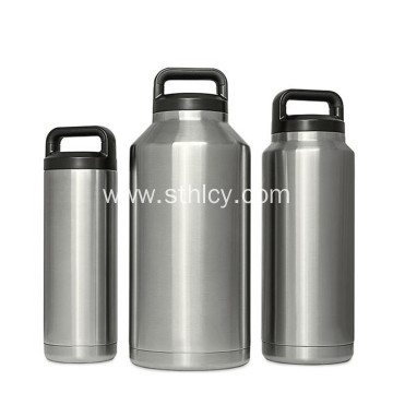 Vacuum Outdoor Stainless Steel Sports Water Bottle