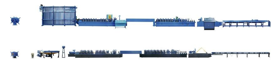 Automatic Square Tube Welding Production Line