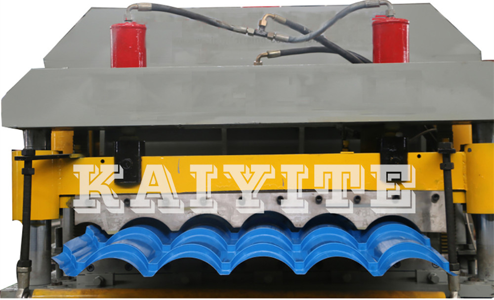 glazed roof tiles machinery