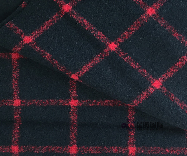 Popular Tartan 650GM Woolen Suit Fabric