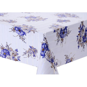 Transfer Printing Tablecloth with Silver