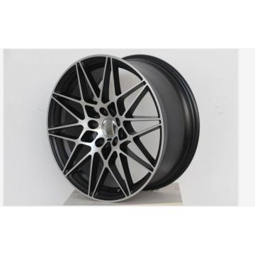 Staggered 19inch Black alloy wheel
