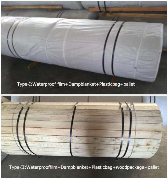 corrugator belt packing