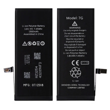 Mise à jour originale d'iOS de remplacement de batterie de Li-ion d'iPhone 7
