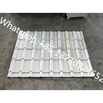 Terracotta Metal Roofing Sheet Roll Forming Machine