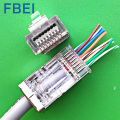 RJ45 with gold plating 15U