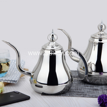 European Stainless Steel Coffee Pot