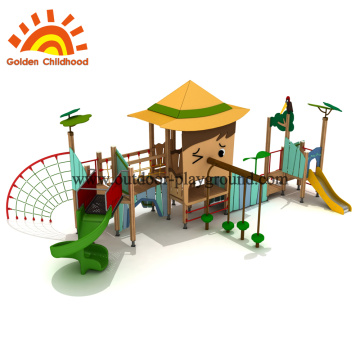 Wooden playground accessories for schools