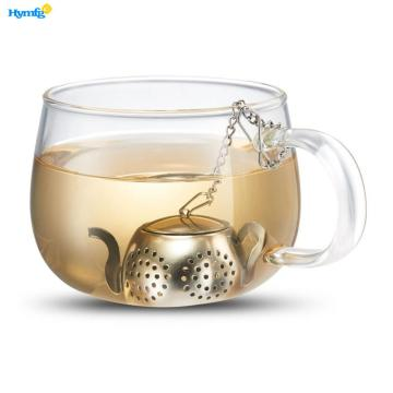 Stainless Steel Loose Leaf Teapot Strainer with Chain