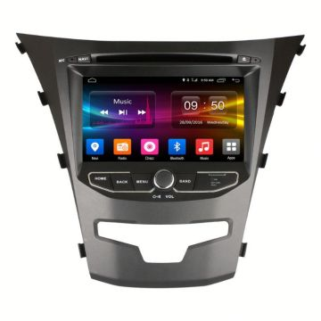 Wholesale Price for Double Din Av Navigation System car dvd player for ssangyong korando 2014 supply to Ethiopia Supplier
