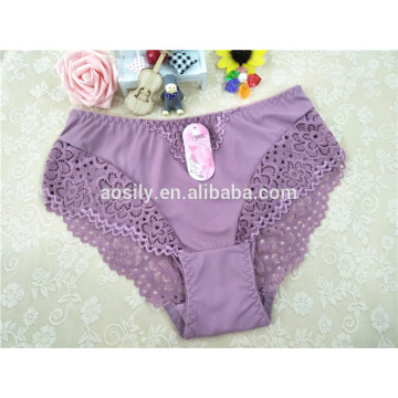 A3511 sexy lingeries women underwear silky comfortable briefs