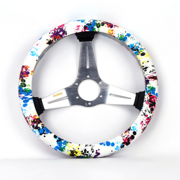 Heat Resistant Silicone Design Your Steering Wheel Cover