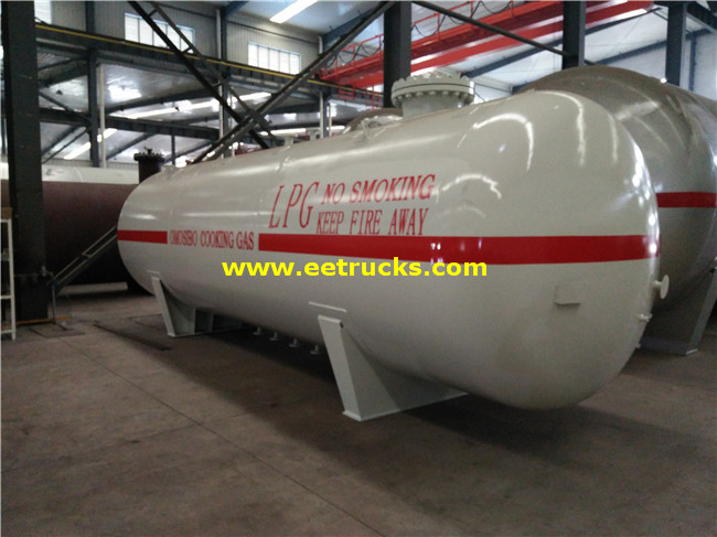 7000 Gallons 10MT Propane Gas Cylinder Tanks