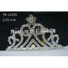 Rhinestone hair jewelry flower tiaras