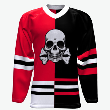 Custom Team Sport Wear Cheap Wholesale Dye Sublimation Slim Fit Ice Hockey Jersey