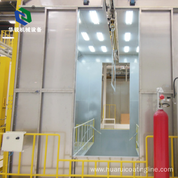 Best High Efficiency Economic Automatic Powder Spray Booth