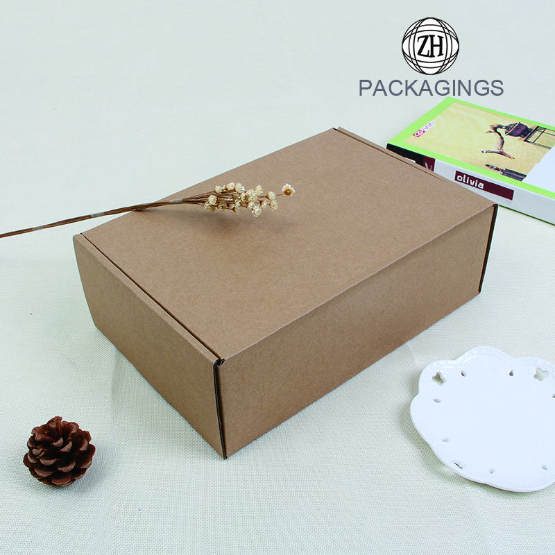 Retail paper moving packaging box