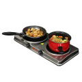 Infrared Burner Cooktop Buffet Range in Sleek Steel