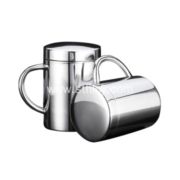 Custom Double Wall Stainless Steel 304 Coffee Cup