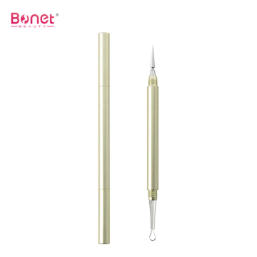 Double Ended Aluminium Handle Acne Pin Facial Extractor