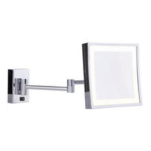 LED wall shaving mirror