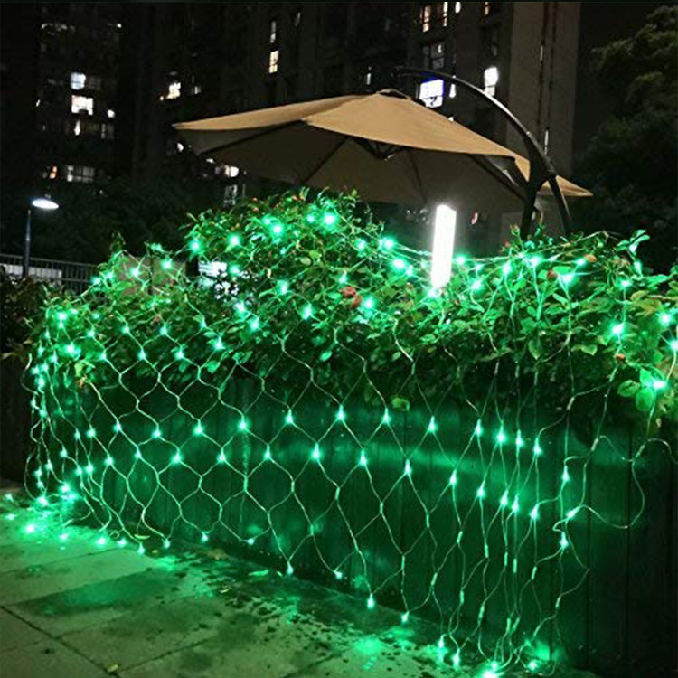 led maple christmas tree net light