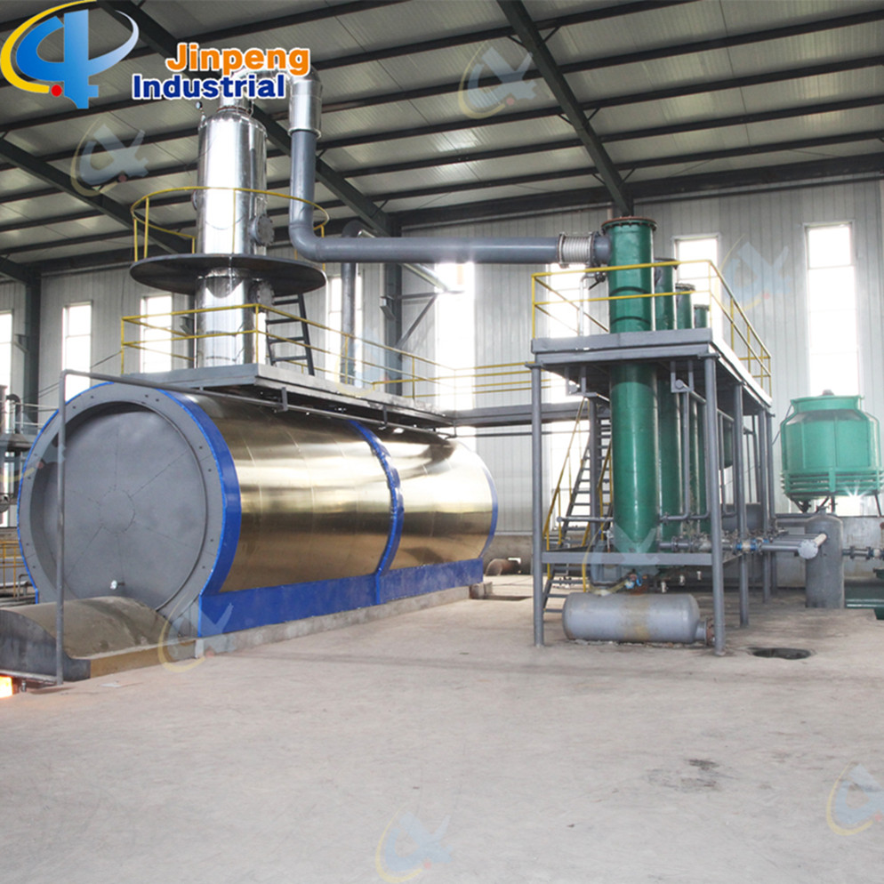 Oil Refining Usage Plastic Oil Distillation Machine