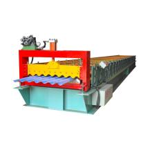 Corrugated steel roofing tiles roll forming machine