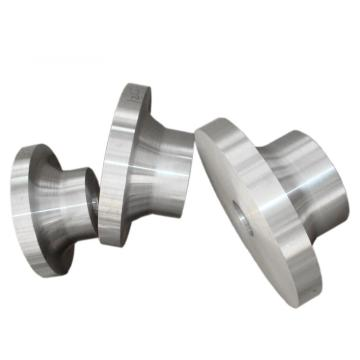 Connection flange forging machined