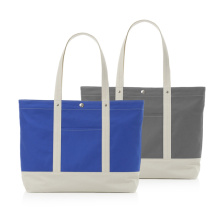 Large Customized Color Canvas Cotton Beach Tote Bag