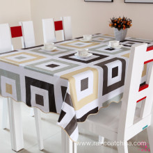 Customized for Household Items Plastic Shinny Square Table Cloth export to India Manufacturers