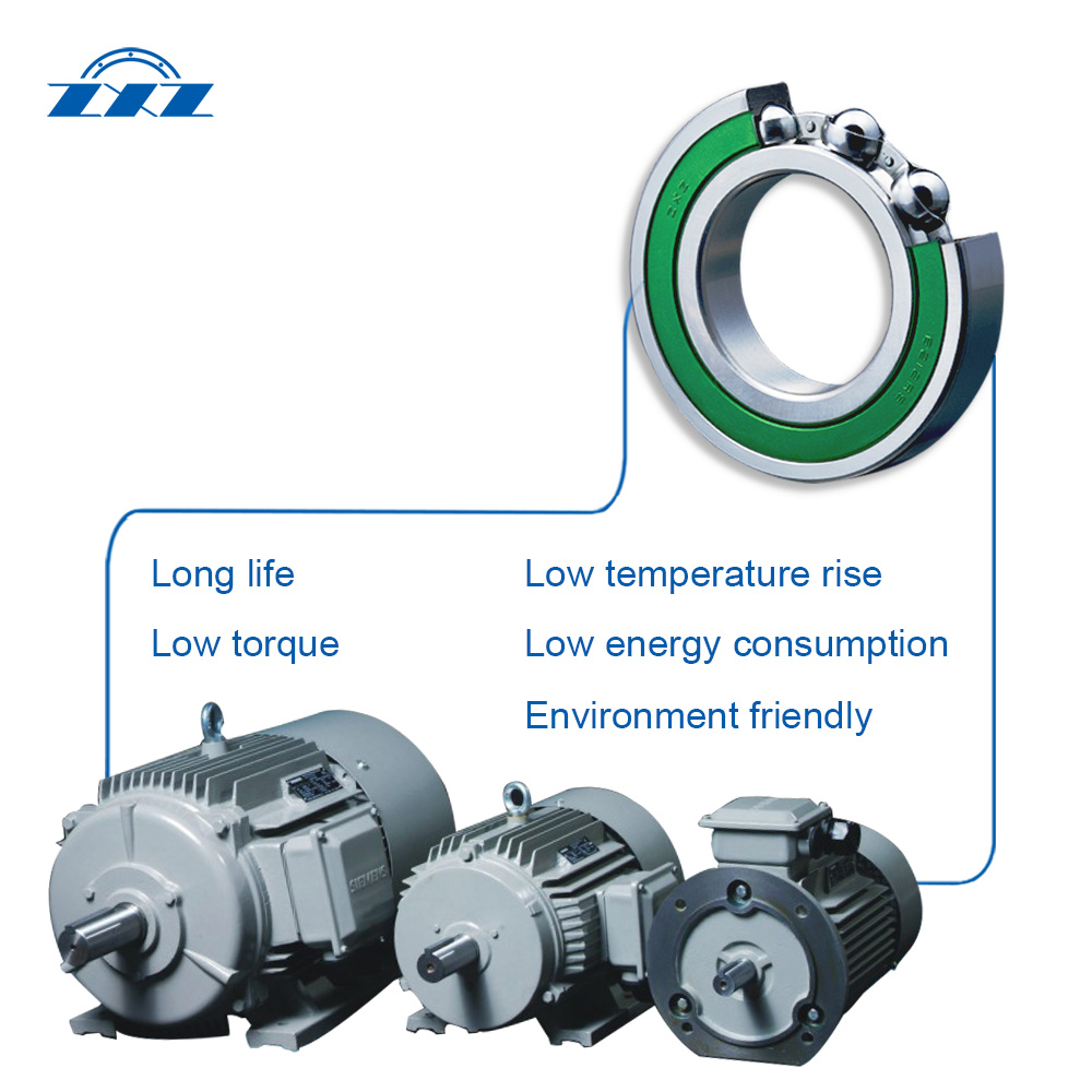 Motor Bearings Low Friction Ball Bearings 5
