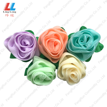 Rose Flower bulk loofah Sponge body exfoliating sponge