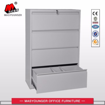 Anti-Tilt Structure Office steel 4 Drawer File Cabinet