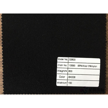 95% Wool 5% Nylon Fabric For Promotion