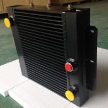 Aluminum Plate Fin Oil Cooler with Fan